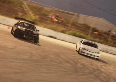 Rex Deseo in Black Team Proline S14 running against Arvin Aviles in Finals - photo by Von Burrell