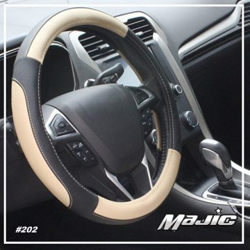 Majic steering wheel covers