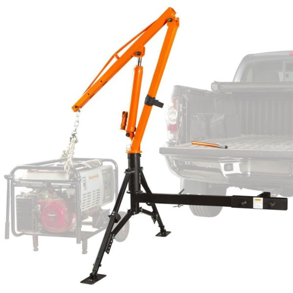 Apex Hydraulic Receiver Hitch Crane - 1,000 lb. Capacity