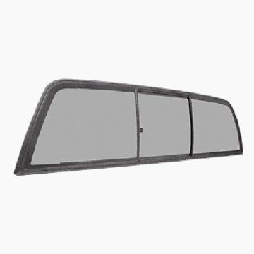 CRL Three-Panel Tri-Vent Sliders for 2005+ Toyota Tacoma Cabs